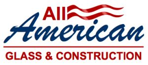 All American Glass and Construction League City TX Logo