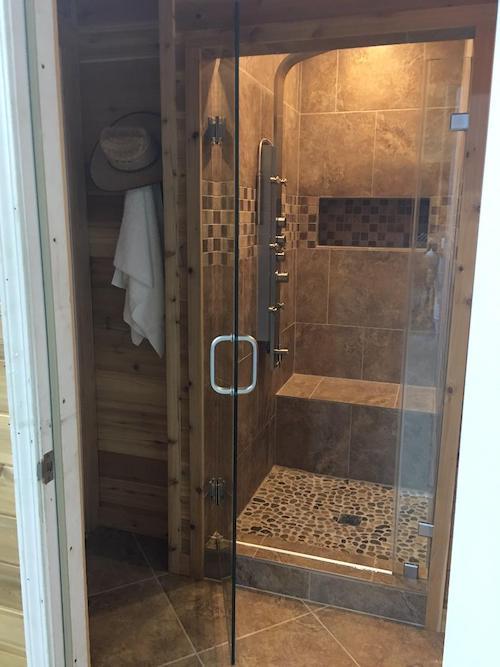 Santa Fe shower doors1
