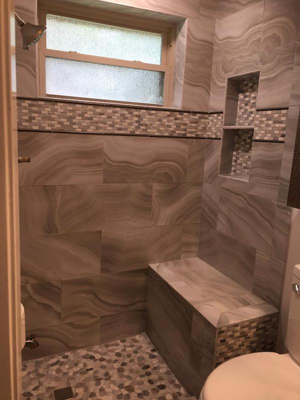 Shower Door Houston before