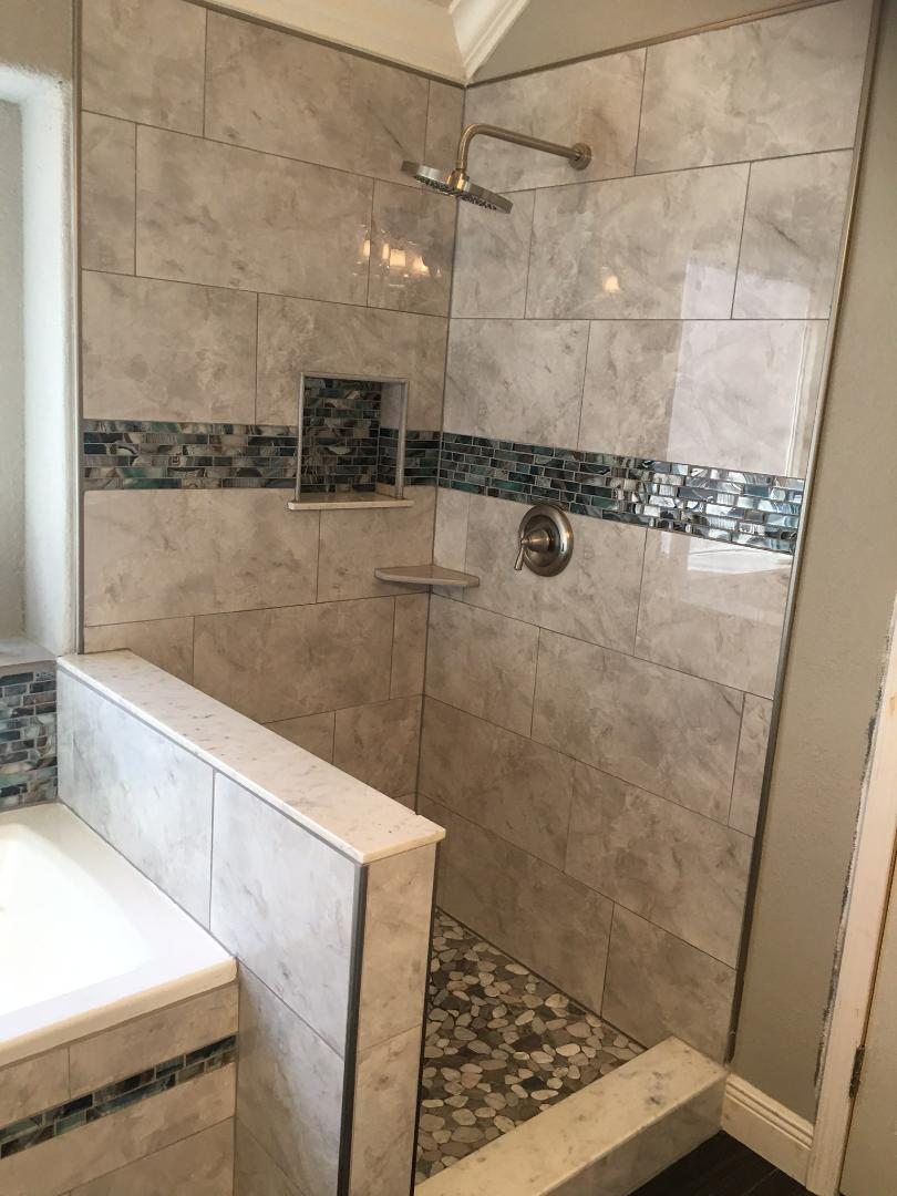 Pearland Shower after